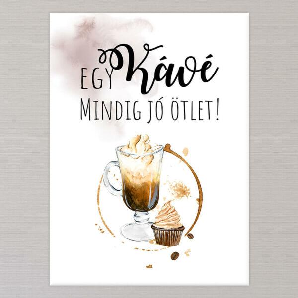Reggeli Kávés Vászonkép - 50x40 cm