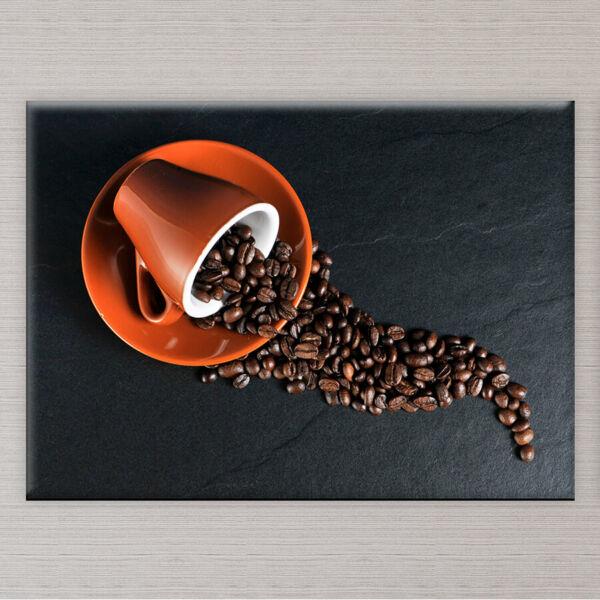 Kávés Vászonkép Konyhába - 50x40 cm