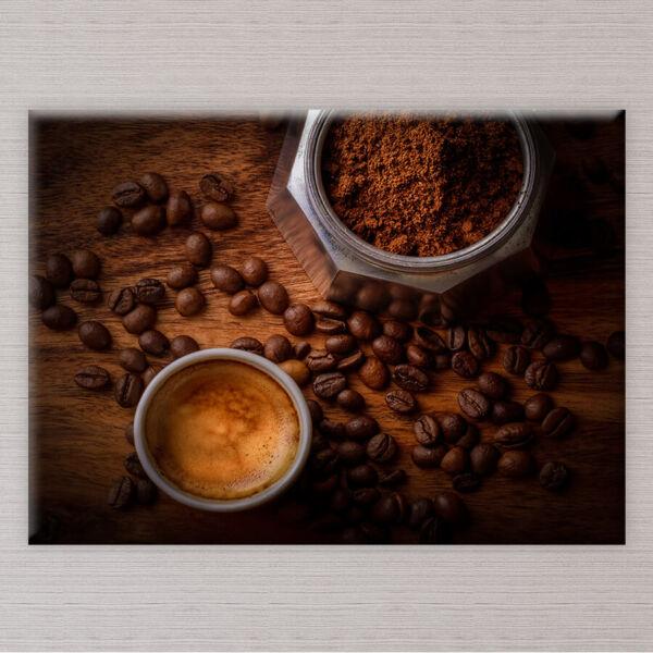 Kávészeme Vászonkép - 50x40 cm