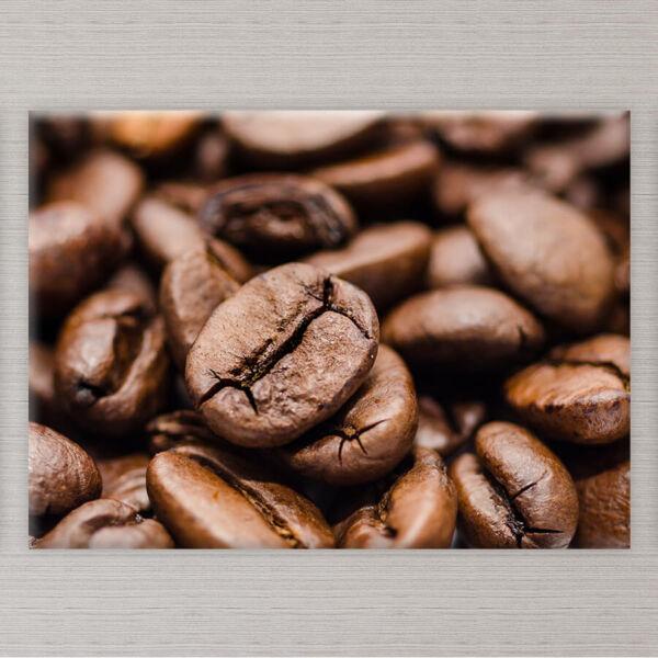 Kávészemek Vászonkép Konyhába - 50x40 cm