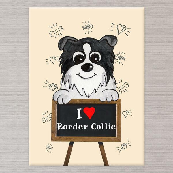 Kutyás Vászonkép Border Collie - 50x40 cm
