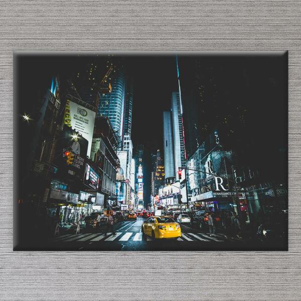 Modern Város Vászonkép - 50x40 cm