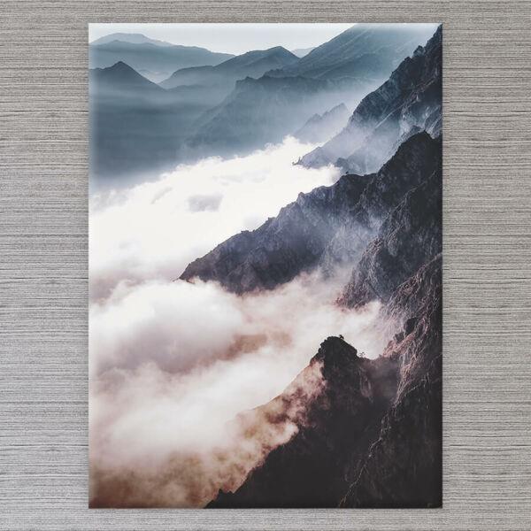 Vászonkép Alpok - 50x40 cm