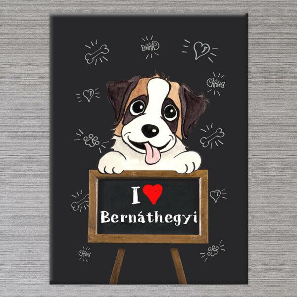 Bernáthegyi kutya vászonkép