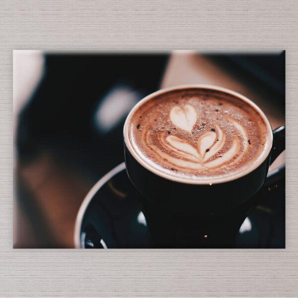 falikép csesze kávé konyhába