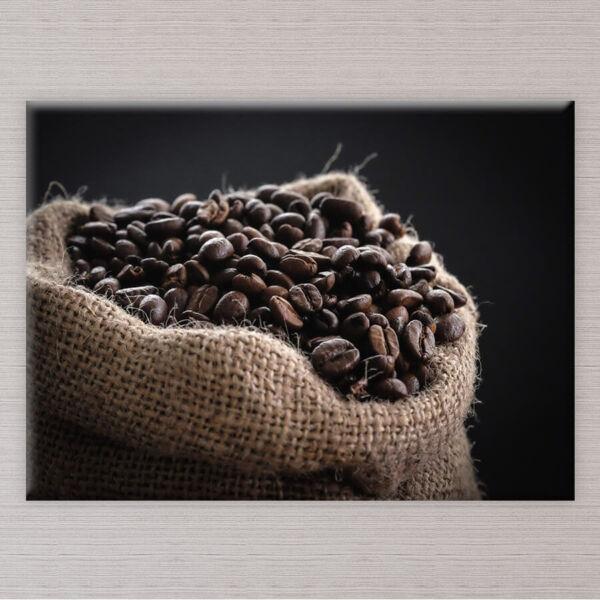 kávészemek vászonkép