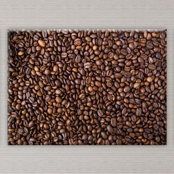 kávészemek vászonkép konyhába