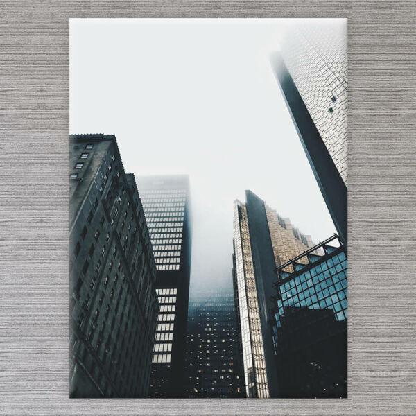 vászonkép felhőkarcolók