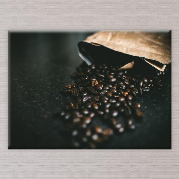 vászonkép kávészemek